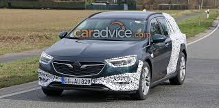 opel insignia wagon 2017 opel insignia country tourer spied