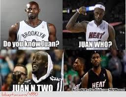 Funny Lebron James Memes - lebron james kevin garnett http weheartnyknicks com nba funny