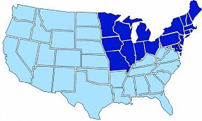 Civil War States Map Market Statistics Coldwell Banker Carlson Real Estate