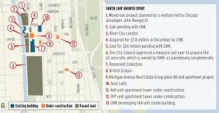 residential developers return to chicago u0027s south loop in other
