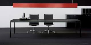 Black Meeting Table Bianco Nero Black Meeting Table Fantoni Uk