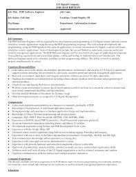 best photos of job description format job description template