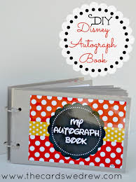 diy disney autograph book free printable the cards we drew