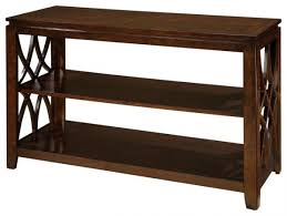 48 inch console table standard furniture woodmont 48 inch sofa table in brown cherry