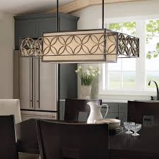 ideas elegant linear chandelier by vaxcel lighting with dark wood