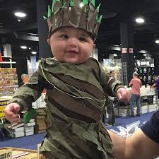 groot costume baby groot costume at boston comic con popsugar tech