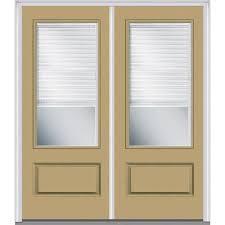 mmi door 72 in x 80 in cadence left hand small oval 1 panel