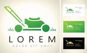 Mowing Business Cards Lawn Business Cards Clip Art Vector Images U0026 Illustrations Istock