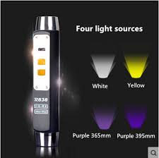 four lights warsun high quality 365 395 uv yellow white four lights led