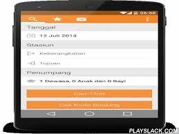 Tiket Kereta Api Sepoor Tiket Kereta Api Android App Playslack Aplikasi