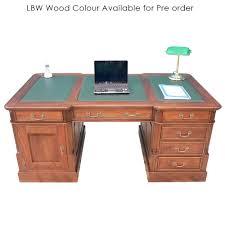 style mahogany office furniture wood executive partners desk