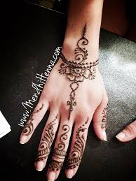 henna style wrist tattoo placement for a actual tattoo