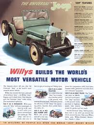 vintage jeep jeep advertisement gallery