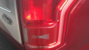 2016 f350 tail lights 2015 ford f 150 integrated tail light blind spot radar youtube