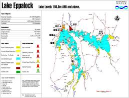 Lake Victoria Map Lake Eppalock Goulburn Murray Water