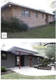 best 25 painted brick ranch ideas on pinterest brick exterior