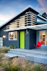 mid century modern exterior house paint colors painting homemodern