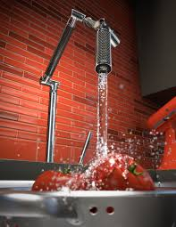 Red Kitchen Faucet by Kitchen Faucet Digital Sets Hypothetical