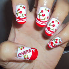 sleek christmas nail art zestymag