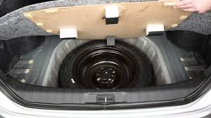 2016 nissan maxima spare tire and tools youtube