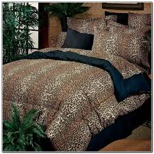 Cheetah Print Bedroom Set by Cheetah Print Bed Set Queen Beds Home Design Ideas