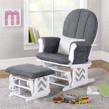White Glider Chair Furniture Beautiful Outdoor White Glider Rocker Plus Ottoman For