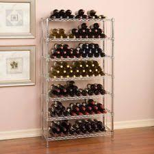 steel free standing wine racks u0026 bottle holders ebay