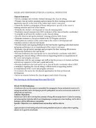 example of a nurse resume roles and responsibilities of a clinical instructor nursing roles and responsibilities of a clinical instructor nursing public health