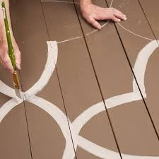 how to paint a design on your porch floor hometalk