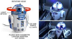 wars r2 d2 usb car charger coolpile