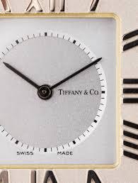 tiffany u0026 co atlas travel clock decor and accessories