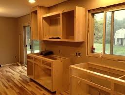 Build Kitchen Cabinet How To Build Kitchen Cabinets Step By Step Bloomingcactus Me