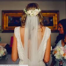 floral crown with veil u2026 pinteres u2026