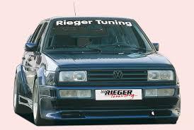 volkswagen scirocco 1989 rieger gfk fits vw scirocco gto front bumper 18011 ebay