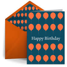 birthday balloons for him orange birthday balloons free birthday card for him happy