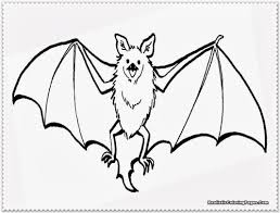 Bat Template Halloween by Free Coloring Page Bat
