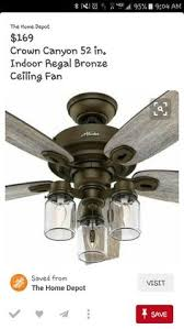 industrial ceiling fans home depot home decorators collection 52 in indoor outdoor weathered gray