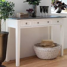 distressed white console table white console table swedish hall furniture modish living