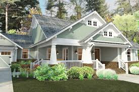 bungalow house plans with front porch plan 16887wg 3 bedroom house plan with swing porch craftsman