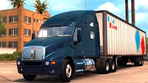 kenworth dealer kenworth t2000 v1 2 mod american truck simulator youtube