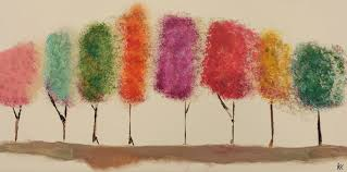 angela anderson art blog easy tree painting kids art project