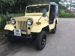 willys jeep 1981 mitsubishi willys jeep j 53 2 7 diesel 4x4 in chichester