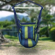 amazon com sorbus hanging hammock chair swing seat for any