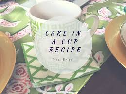 weight watchers cake in a cup recipe treat youtube