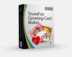 snowfox greeting card maker for mac helps make greeting card easily