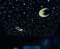 glow in the ceiling decorate your ceiling with glow in the stickers besthometip