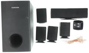 samsung home theater speakers samsung ps cz410 black wired standalone surround sound speaker