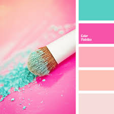 matching colours with pink color of fuchsia color palette ideas