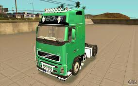 volvo sa trucks volvo fh16 globetrotter dhl for gta san andreas