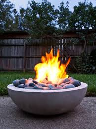 15 patio sized fire pits and water features hgtv